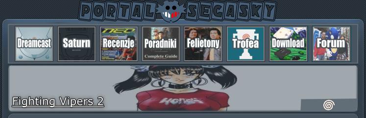 SEGA-SKY Portal - Fighting Vipers 2 | Recenzja